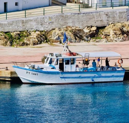 Imbarcazione da pesca nel Golfo dell'Asinara