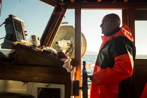 Comandante di una barca da pescaturismo nel Golfo dell'Asinara