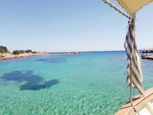 Crystal clear sea of La Maddalena Archipelago