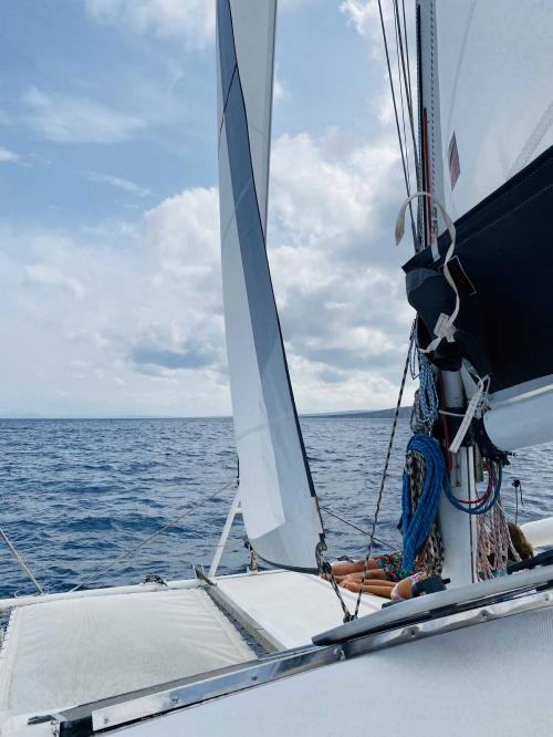 Veleggiata in catamarano nel Golfo dell'Asinara