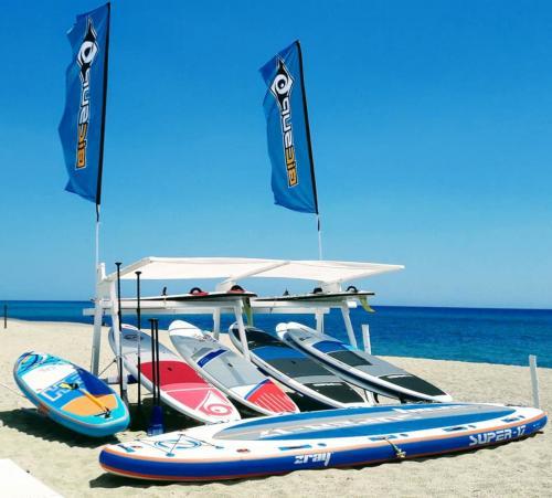 SUP en la playa de Orosei