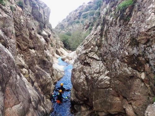 Canyon in Villacidro