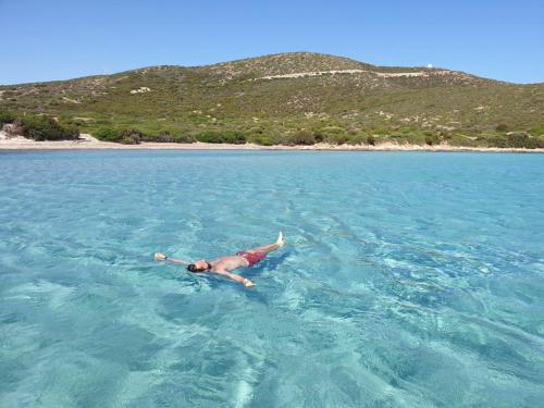 Relax in the crystal clear sea