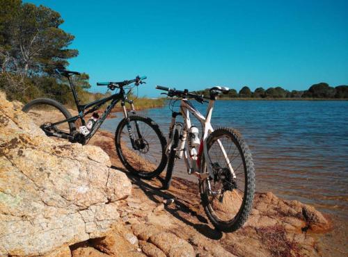 Fahrrad in Bidderosa