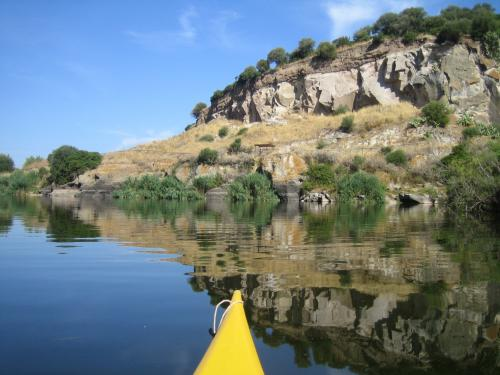Canoe and nature in the Valledoria area