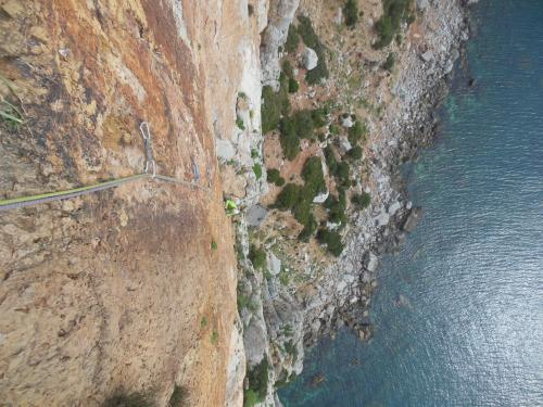 Masua cliff