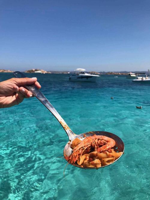 Lunch on board