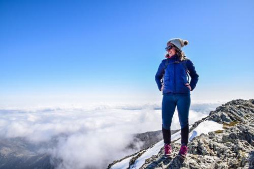 Summit hiker