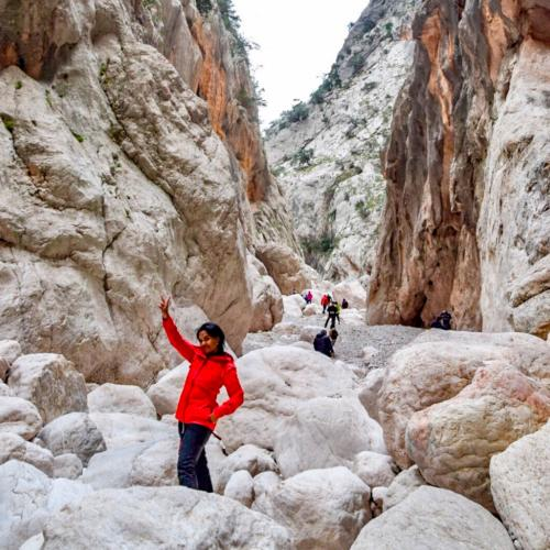 Canyon hikers