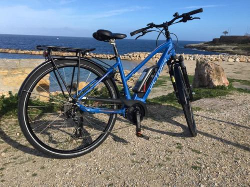 Bicycle in the Porto Torres seafront