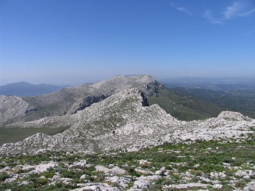 Trekkingroute in Montalbo