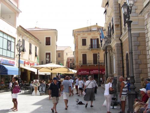 Historic center of La Maddalena