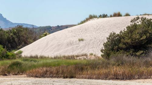 Sand hill Capo Comino