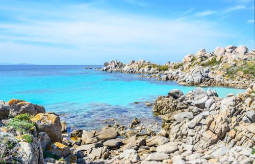 Felsen und Meer von Korsika