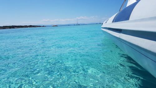 Schlauchboot in Korsika
