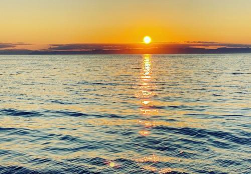 Sonnenuntergang am Meer von Stintino