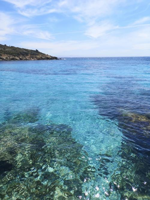 Kristallklares Meer bei Asinara