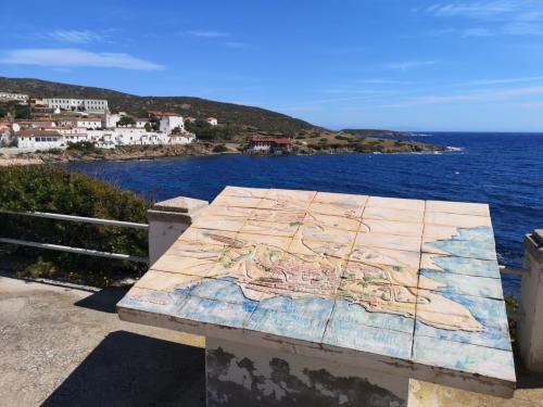 Karte von Asinara