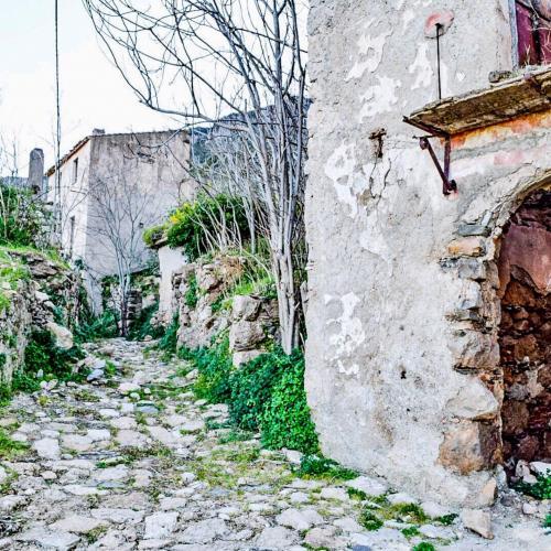Ruinen im Land