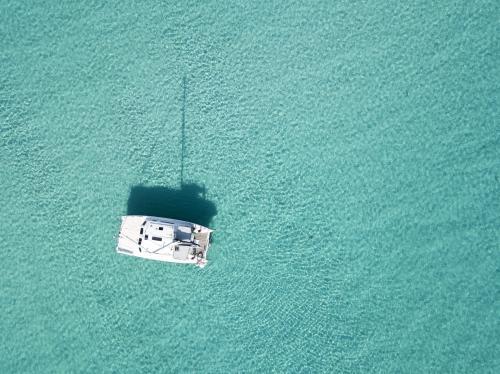 <p>Catamarano nel mare cristallino dell'Asinara</p><p><br></p>