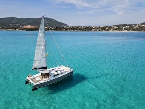 Katamaran von Stintino zur Insel Asinara