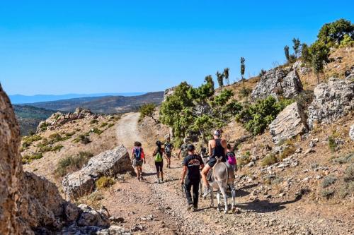 Guided trekking in the Supramonte