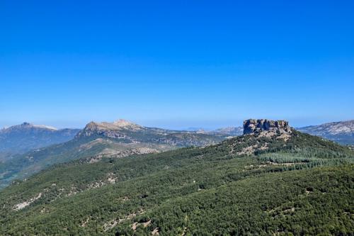 Panoramic view of the Supramonte