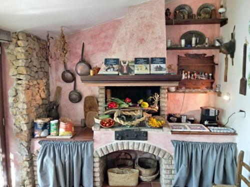 Cucina del laboratorio di cucina ad Alghero