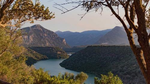 Flussblick von dem Ecoparco Neulè