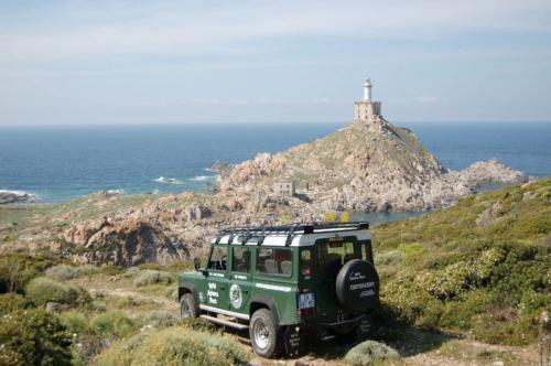 Geländewagen auf der Asinara