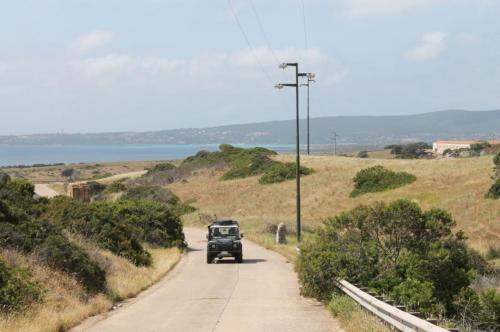 Fuoristrada sull'isola dell'Asinara