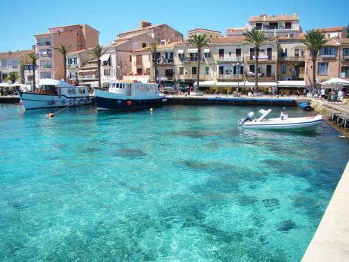 Stadt von La Maddalena