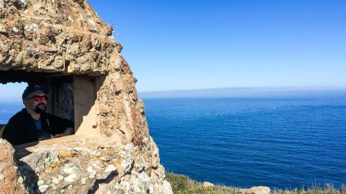 Wanderer und Meer