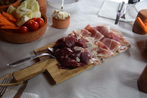 Typical Sardinian aperitif
