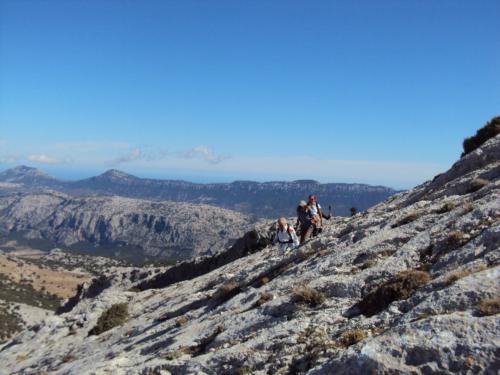 Guided excursion to Monte Corrasi