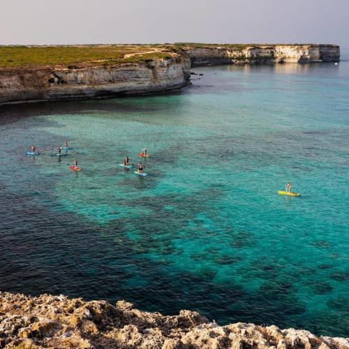 SUP in the sea of Oristano