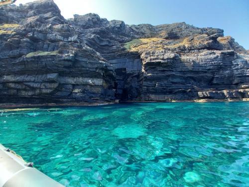 Acqua cristallina all'Asinara
