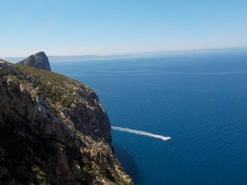 Panoramic sea view of Masua