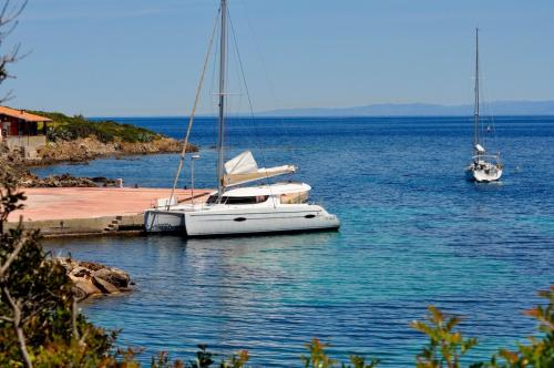 Catamaran to Asinara