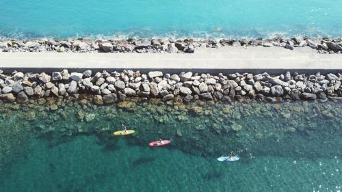 SUP on the coast of Buggerru