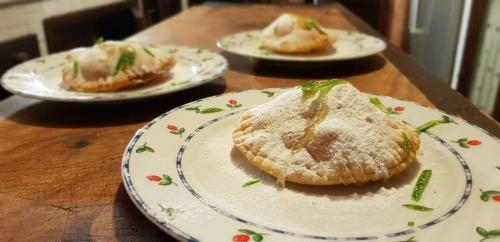 Typical Sardinian sweet, the seadas