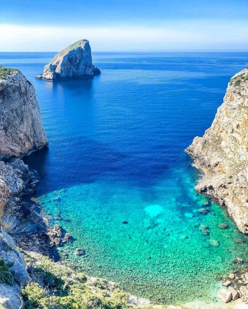 Mar cristalino en Alghero