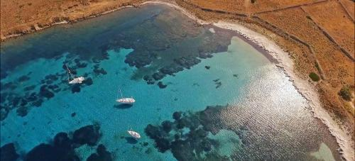 Golf von Asinara und Segelboote