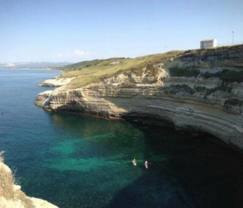 Coast of Porto Torres