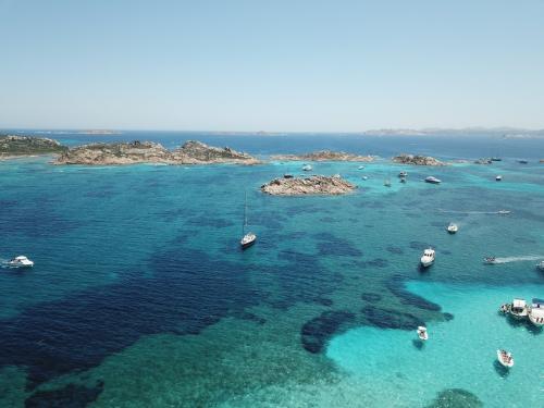 La Maddalena-Archipel und Boote