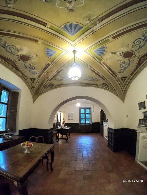 Chambre intérieure à la Villa Piercy
