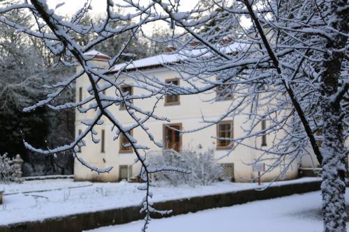 Nieve en invierno en Villa Piercy
