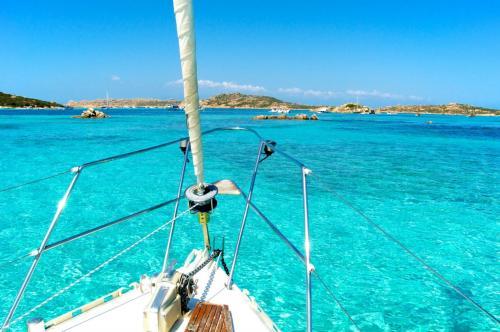 La Maddalena Archipel und Boot