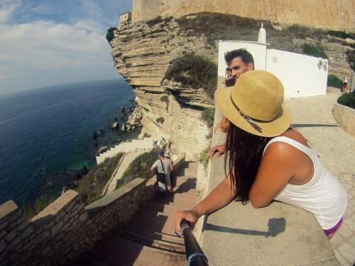 Wanderer auf Korsika