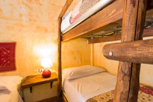 Bunk bed in the quadruple room